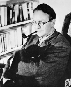 Author Raymond Chandler in His Study